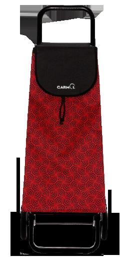 Garmol 14G2 PO C5 Carro Compra Rojo 45L Tela