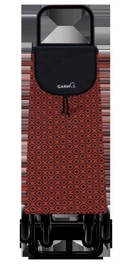 Gris Garmol 218GP16 Ojo C658 Carro de Compra 4 Ruedas Plegable Tela 40x16x119 cm